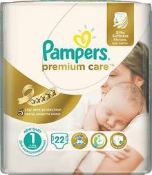 Pampers Premium Care 1 Newborn 22 szt.