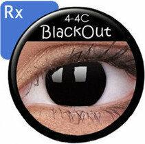 Maxvue Vision Crazy Wild Eyes RX - BlackOut 2 szt.