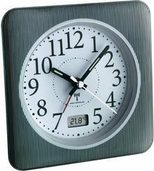 TFA Radiowy zegar z cyfrowym wyświetlaczem daty i temperatury