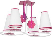 Nowodvorski Sufitowa Lampa dziecięca PRASLIN 5303 biały-Różowy