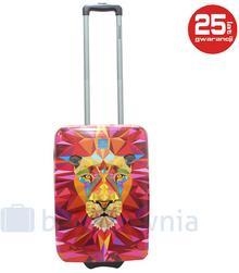 Saxoline Mała kabinowa walizka Jungle Lion S 4006268600668