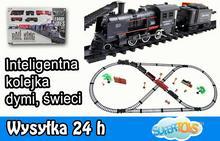 Import SUPER-TOYS INTELIGENTNA KOLEJKA Z CHIPEM, DYMI ŚWIECI /190321 19032-1/18