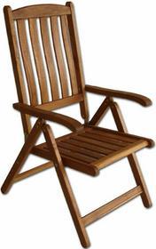 Krzesło drewniane składane wielopozycyjne - Villa Toscana (88132)