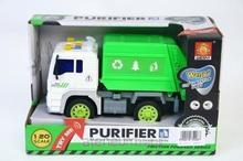 Mega Creative Auto ciężarowe plastikowe śmieciarka