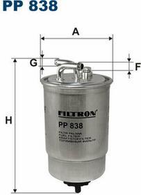 FILTRON PP 838 FILTR PALIWA