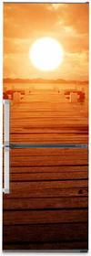 Oklejaj Naklejka na lodówkę - Wschód słońca 0127 - Naklejka