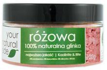 Your Natural Side Glinka różowa 100% naturalna 100g