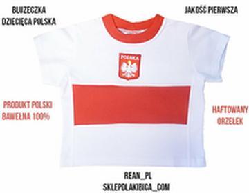 BLUZECZKA DZIECIĘCA POLSKA Koszulka HAFT