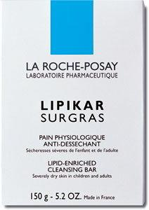 La Roche-Posay Lipikar Surgras Kostka do mycia twarzy i ciała 150 g
