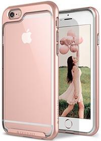 Caseology [Skyfall Serie] Dünn Durchsichtige Rückschale / Hybrid Case Bumper für [iPhone 6S Plus/ 6 Plus] - [Rotgold]
