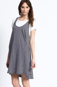 Medicine Sukienka - Sukienka Decadent jasny szary RS16.SUD070