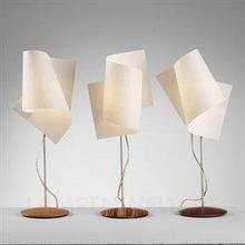 Domus Interesująca Lampa stołowa Loop aluminium