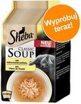 Sheba Classic Soup, 4 X 40 G - Paseczki Z Piersi Kurczaka
