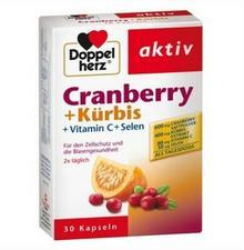 Queisser Pharma Doppelherz żurawina + dynia kapsułki GmbH & Co. KG 30 szt.
