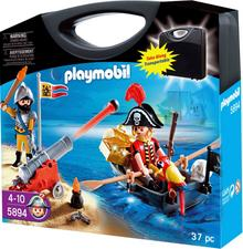 Playmobil Przenośna walizka Atak Piratów 5894