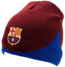 Dwustronna Czapka Zimowa FC Barcelona FFAN