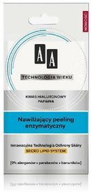 Oceanic Technologia wieku nawilżający peeling enzymatyczny z kwasem hialuronowym i papainą 10 ml