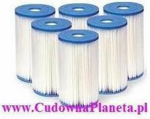 Intex 6 x Filtr do pompy komplet typu B - 59905