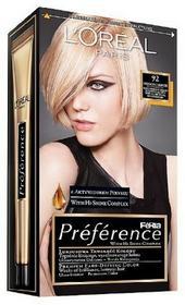 Loreal Feria Preference Bardzo Jasny Blond 92