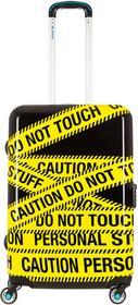 BG BERLIN Średnia walizka URBE Caution czarno-żółta BG003/03/129/24