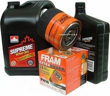 FRAM Filtr oleju PH16 oraz olej SUPREME 10W30 Chrysler 300M