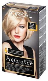 Loreal Recital Preference Z 9.1 Viking Bardzo Jasny Popielaty blond
