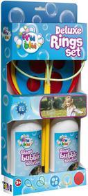 Tm toys Bańki Fru Blu Zestaw Deluxe + 2 x 0,5l płynu