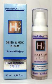 PharmaVita H3Y Krem ultranawilżający HYALURONIC 3 SIZE; 50 ml