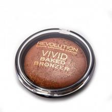 Makeup Revolution Vivid Baked Bronzer Bronzed Fame wypiekany bronzer