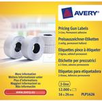 Avery Zweckform Etykiety cenowe do metkownicy 2 rzędowej 16 x 26mm Zweckform PLP1626