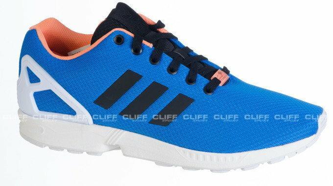 adidas zx flux niebiesko czarne