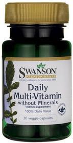 SWANSON Daily Multi-Vitamin 30 szt.