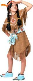 FUNNY FASHION Strój karnawałowy Indianka Anila 402117