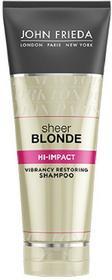 John Frieda Sheer Blonde szampon odświeżający kolor włosów blond Hi-Impact new 250 ml