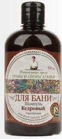 Pierwoje Reszenie Rosja Babuszka Agafia Szampon cedrowy 18 ziół 500ml