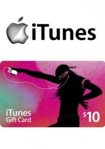iTunes 10 USD GIFT CARD PREPAID US