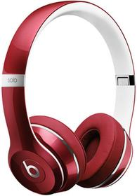 Beats by Dre Solo2 Luxe Edition czerwone