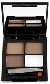 Makeup Revolution Focus & Fix Eyebrow Shaping Kit zestaw do stylizacji brwi Dark Medium 5,8g
