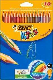 Bic 18 kolorów Kids Tropicolors 2 Kredki ołówkowe