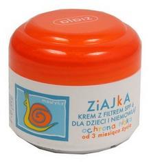 Ziaja Ziajka Krem z filtrem SPF 6 dla dzieci i niemowląt ochronny 50ml