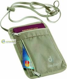 Deuter Security Saszetka Wallet I - piaskowy 39200