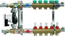 KAN 2-obiegowy rozdzielacz 1 do ogrzewania podłogowego z pompą elektroniczną WIL