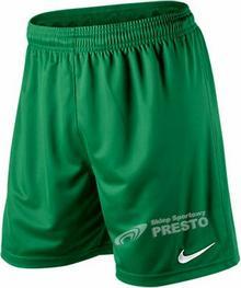 Nike Spodenki piłkarskie Park Knit - zielony 448224302