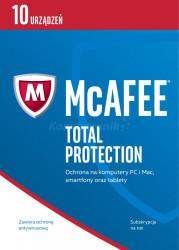 McAfee Total Protection 2017 BOX PL 5 device licencja na rok