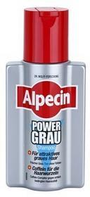 Alpecin Power Grau szampon upiększający siwe włosy 200 ml