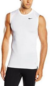 Nike Cool Compression Bezrękawnik Kompresyjny, Męski, Biały, M