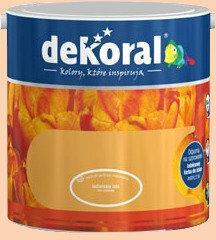 Dekoral Farba lateksowa Akrylit W pomarańczowy jasny 5L - Farba Lateksowa Dekora