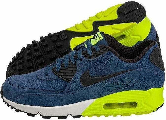 Nike Air Max 90 Premium 333888 022 zielono szary Ceny i opinie na Skapiec.pl