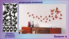 Motylki zestaw nr 2