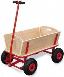 Legler Wózek drewniany z dyszlem Herkules 9912